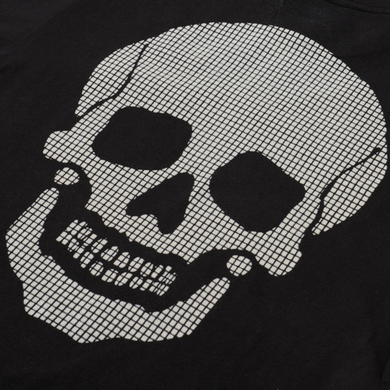 Мужской лонгслив Vans LS Anaheim Needlework Skull Black