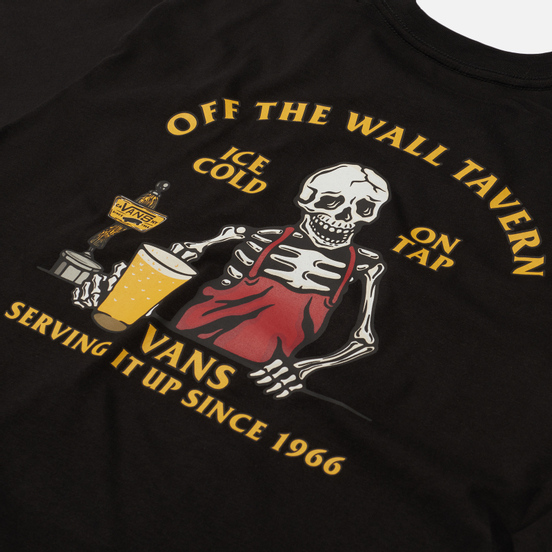 Мужская футболка Vans Off The Wall Tavern Black
