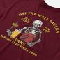 Мужская футболка Vans Off The Wall Tavern Burgundy фото - 2