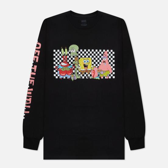 Мужской лонгслив Vans x SpongeBob SquarePants Characters Black