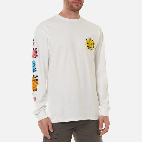 Мужской лонгслив Vans x SpongeBob SquarePants Airbrush White