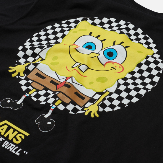 Мужская футболка Vans x SpongeBob SquarePants Spotlight Pocket Black