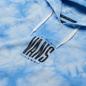Мужская толстовка Vans Tall Type Tie-Dye Hoodie Nautical Blue-Tie Dye фото - 1