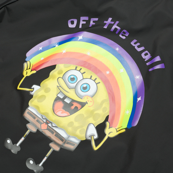 Мужская куртка ветровка Vans x SpongeBob SquarePants Torrey Black