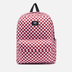 Рюкзак Vans Old Skool Check Chili Pepper/Checkerboard