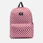 Рюкзак Vans Old Skool Check Chili Pepper/Checkerboard фото - 0