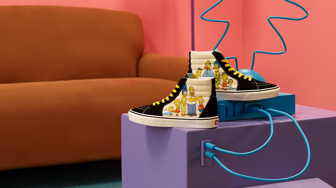 коллаборация Vans x The Simpsons