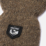 Hestra Basic Wool Mittens Brown photo- 1