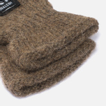 Hestra Basic Wool Mittens Brown photo- 2