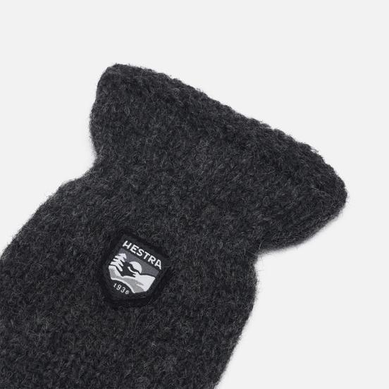 Варежки Hestra Basic Wool Dark Grey