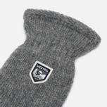Варежки Hestra Basic Wool Grey фото- 1