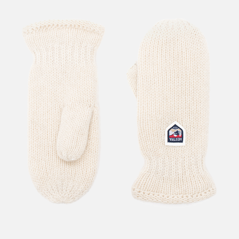 Варежки Hestra Basic Wool Off-White