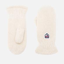 Варежки Hestra Basic Wool Off-White фото- 0