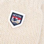 Варежки Hestra Basic Wool Off-White фото- 1