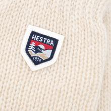 Варежки Hestra Basic Wool Off-White фото- 1