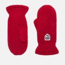 Варежки Hestra Basic Wool Red фото- 0