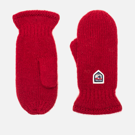 Варежки Hestra Basic Wool Red