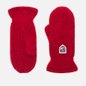 Варежки Hestra Basic Wool Red фото - 0