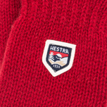 Варежки Hestra Basic Wool Red фото- 1