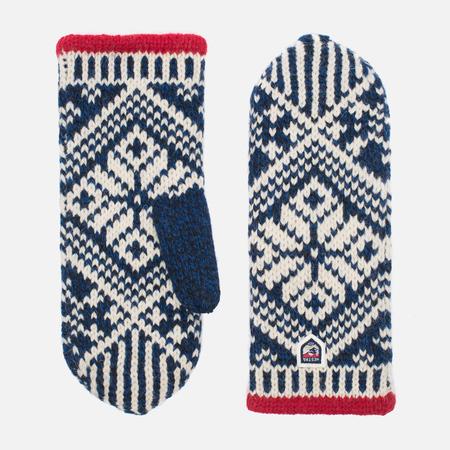 Варежки Hestra Nordic Wool Navy