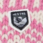 Женские варежки Hestra Nordic Wool Pink/White фото- 1