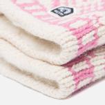 Женские варежки Hestra Nordic Wool Pink/White фото- 2