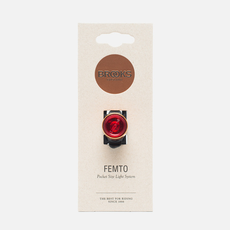 Велофонарь Brooks England Femto Rear Light Copper