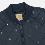 Мужской жилет Carhartt WIP Camp Liner Economy Print Colony/White фото- 1