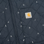Мужской жилет Carhartt WIP Camp Liner Economy Print Colony/White фото- 2