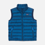 Детский жилет Patagonia Down Sweater Glass Blue фото- 0