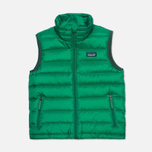 Детский жилет Patagonia Down Sweater Tumble Green фото- 0