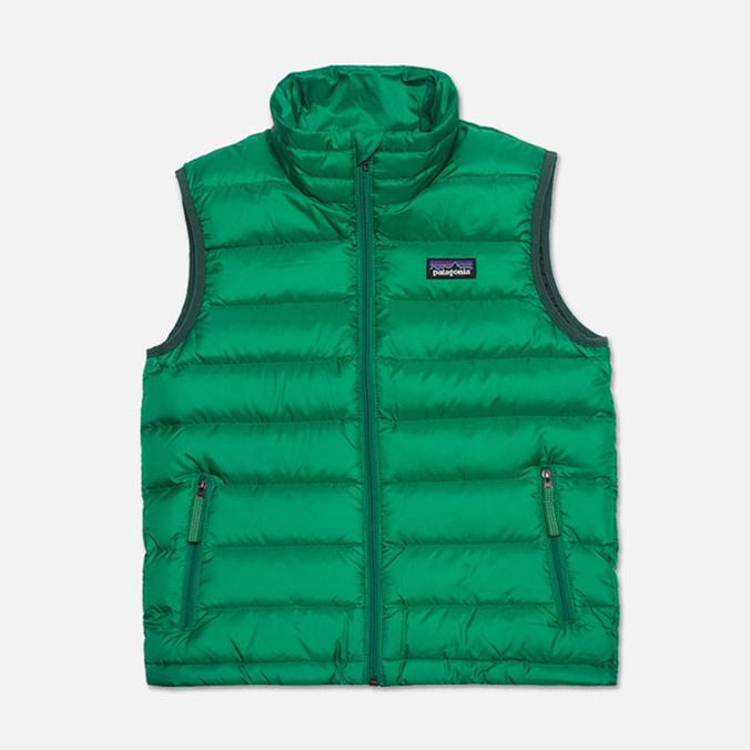 Детский жилет Patagonia Down Sweater Tumble Green