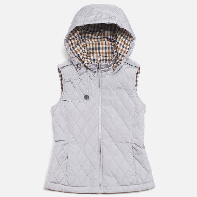 Aquascutum Quilted Women's Jacket Grey