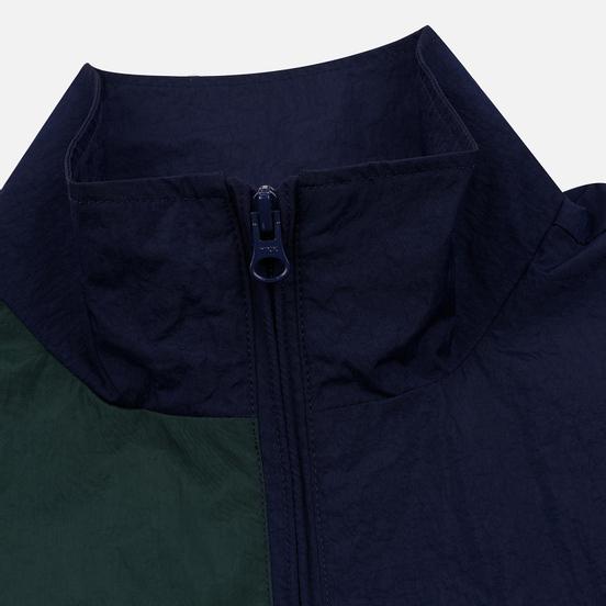 Мужская куртка ветровка Stussy Panel Track Navy