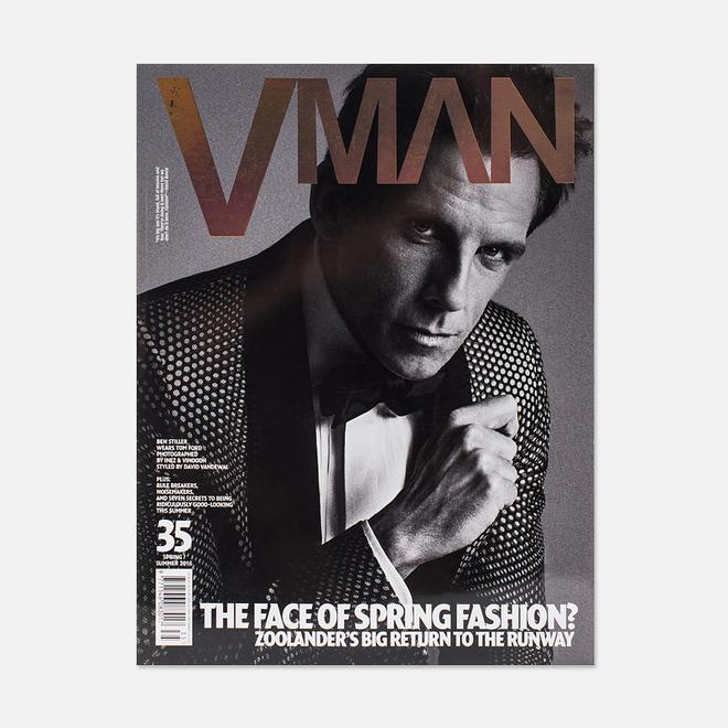 Журнал V Man № 35 Spring/Summer 2016 - Ben Stiller Part 1