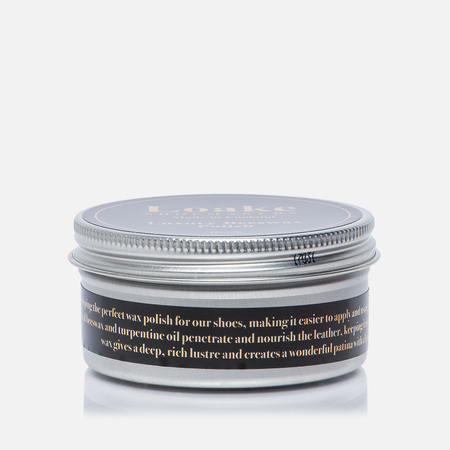 Воск для обуви Loake Luxury Beeswax Polish Black