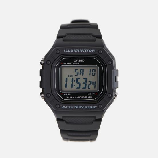 Наручные часы CASIO Collection W-218H-1AVEF Black