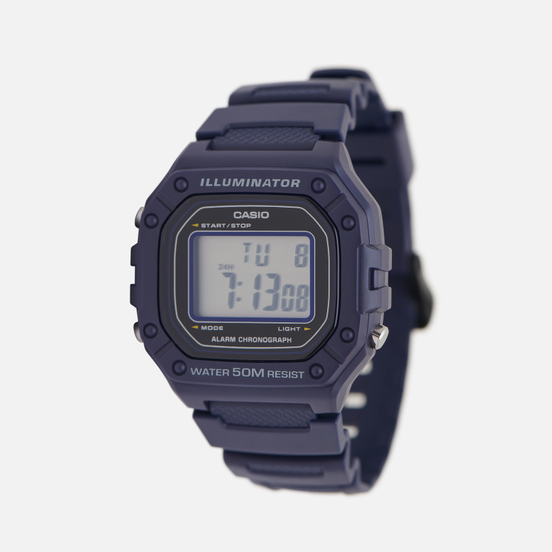 Наручные часы CASIO Collection W-218H-2AVEF Navy