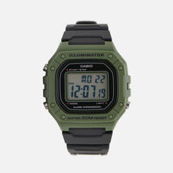 Наручные часы CASIO Collection W-218H-3A Green