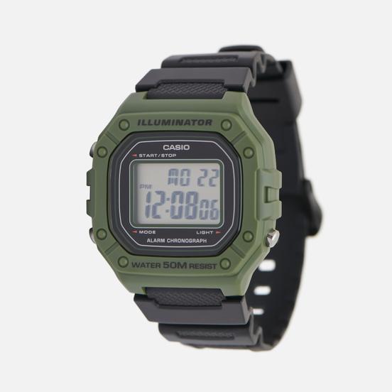 Наручные часы CASIO Collection W-218H-3A Green