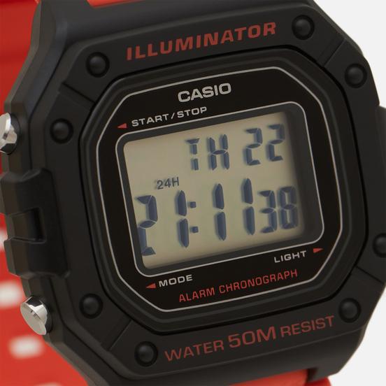Наручные часы CASIO Collection W-218H-4B2 Orange/Black/Black