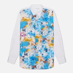 Мужская рубашка Comme des Garcons SHIRT x Futura Print C Front Blue