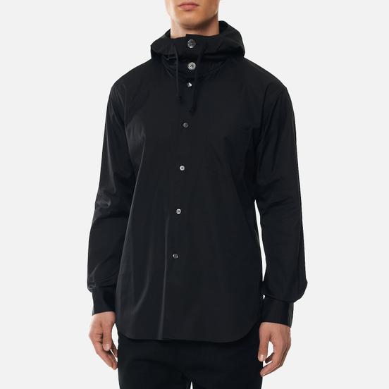 Мужская рубашка Comme des Garcons SHIRT Button Up Hoodie Black