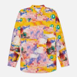 Мужская рубашка Comme des Garcons SHIRT x Futura Print B Yellow