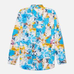 Мужская рубашка Comme des Garcons SHIRT x Futura Print C Blue