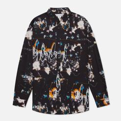 Мужская рубашка Comme des Garcons SHIRT x Futura Print A Black