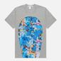 Мужская футболка Comme des Garcons SHIRT x Futura Print C Grey фото - 0