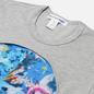 Мужская футболка Comme des Garcons SHIRT x Futura Print C Grey фото - 1