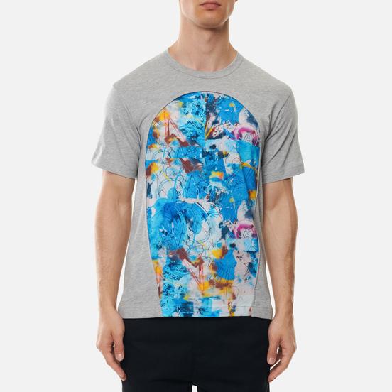 Мужская футболка Comme des Garcons SHIRT x Futura Print C Grey