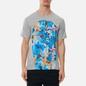 Мужская футболка Comme des Garcons SHIRT x Futura Print C Grey фото - 2